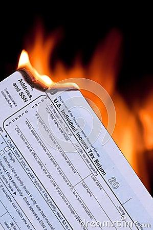 Forma de impuesto en el fuego