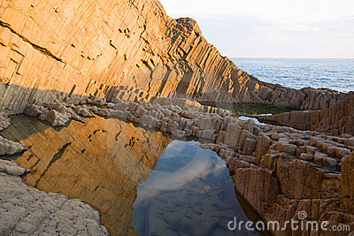 Formación de roca