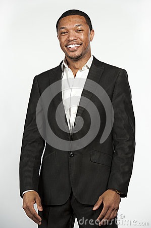 Free Formal Attire Black Male Laughing Stock Photo - 71745040