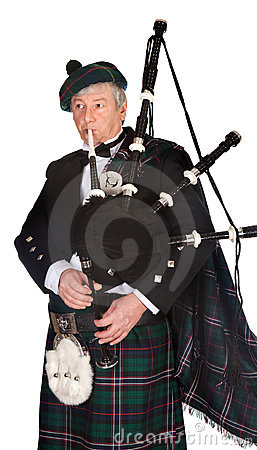 Formal bagpiper