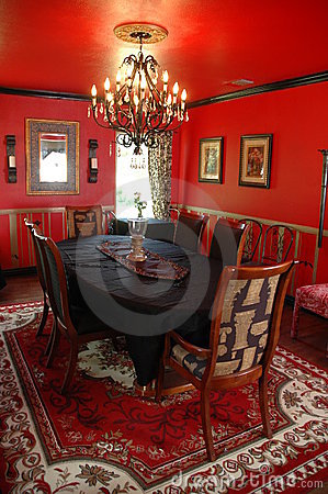 Free Formal Dining Room Stock Photography - 891072