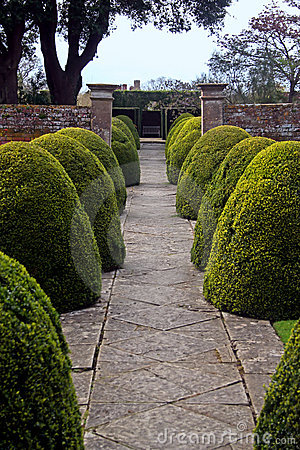 Formal English Garden
