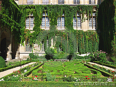 Formal French garden