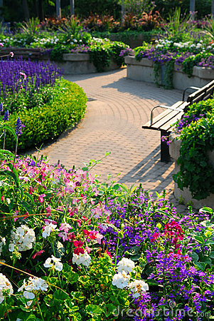 Free Formal Garden Stock Photography - 2963752
