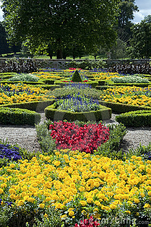 Formal Gardens at Charlecote