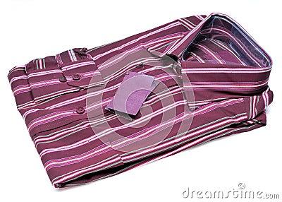 Formal striped shirt