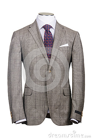 Formal suit in fashion