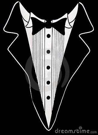 formal tuxedo design royalty free stock photography
