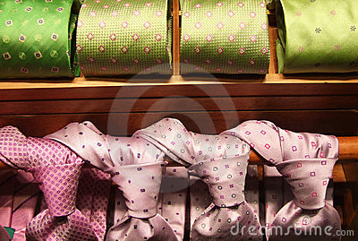 Formal wear outlet with ties