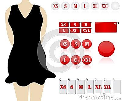 Formati dei vestiti