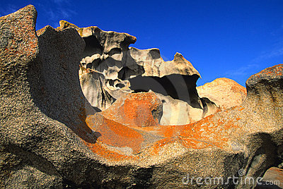 Formation at Remarkable Rocks Australia