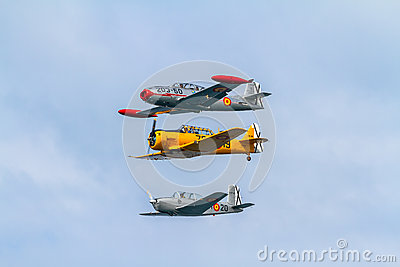 Formation of three aircraft of the FIO Editorial Photo