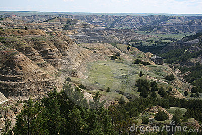 Formations, Theodore Roosevelt National Park