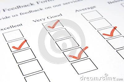Forme #3 de feedback