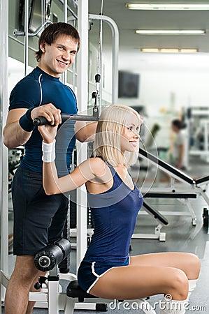 Forme physique de sport