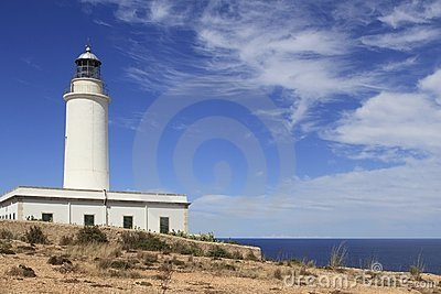 Formentera La Mota lighthouse balearic islands