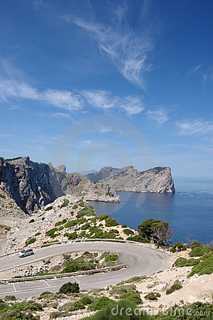 Formentor headland vert