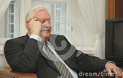 Former Lithuania s president Algirdas Brazauskas Editorial Image