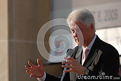 Former President Bill Clinton Editorial Photo