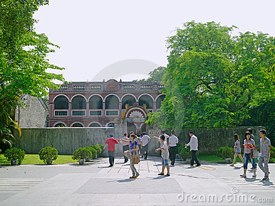 Former Residence of Dr. Sun Yat-sen Editorial Stock Photo