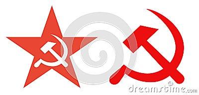 Former Soviet Union political symbols