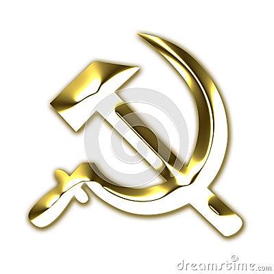 Former USSR communism symbol