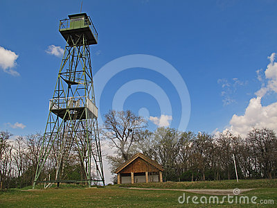 Former Watch tower, Austria Editorial Photo