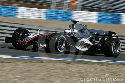 Formula 1 2005 season, Juan Pablo Montoya Editorial Stock Photo