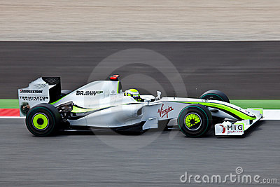Formula 1: Brawn GP Editorial Stock Photo