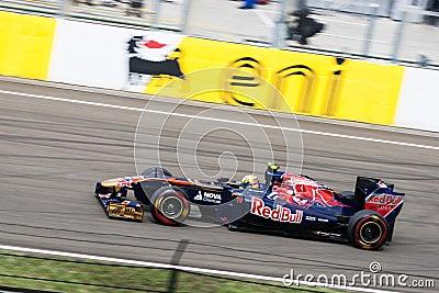 Formula 1 Car Editorial Stock Photo