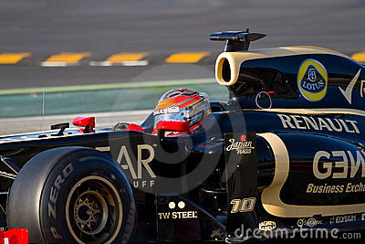 Formula 1 driver Editorial Image