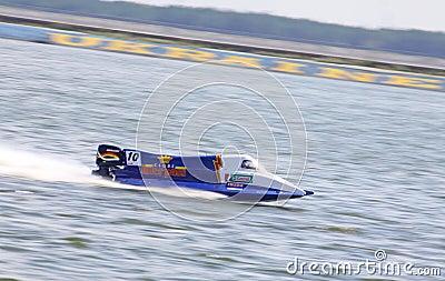 Formula 1 H2O Powerboat GrandPr Editorial Stock Photo