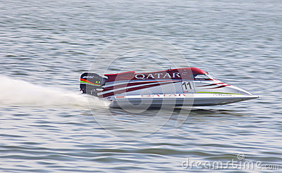 Formula 1 H2O Powerboat GrandPr Editorial Photography