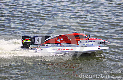 Formula 1 H2O Powerboat GrandPrix Editorial Photography