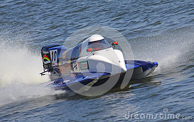 Formula 1 H2O Powerboat GrandPrix Royalty Free Stock Photos - Image: 25769168