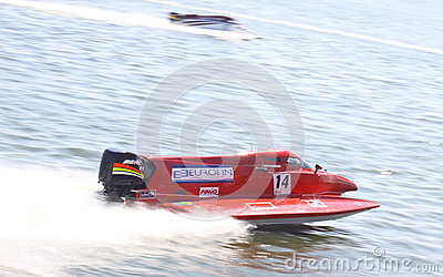 Formula 1 H2O Powerboat GrandPrix Editorial Photo