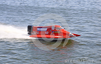 Formula 1 H2O Powerboat GrandPrix Editorial Stock Photo