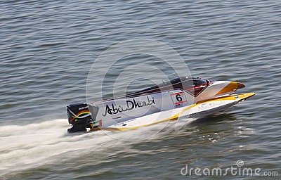 Formula 1 H2O Powerboat GrandPrix Editorial Image