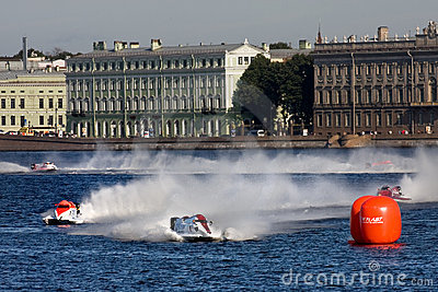 Formula 1 Powerboat World Championship 2009 Editorial Stock Image