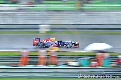 Formula 1, Sebastian Vettel, team Red Bull Editorial Photography