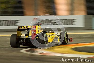 Formula 1 Singapore Editorial Image