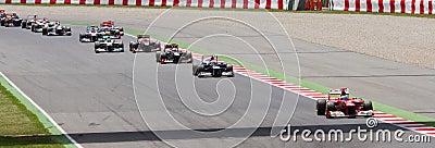 Formula 1 Spanish Grand Prix Editorial Stock Photo