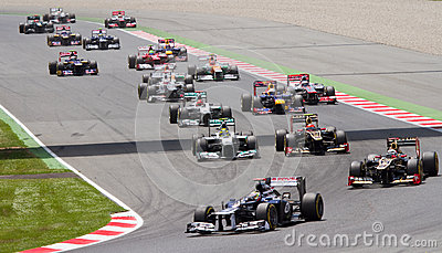 Formula 1 Spanish Grand Prix Editorial Stock Photo