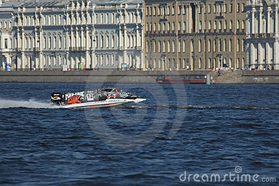 Formula 1 on Water, GP Russia Editorial Stock Photo