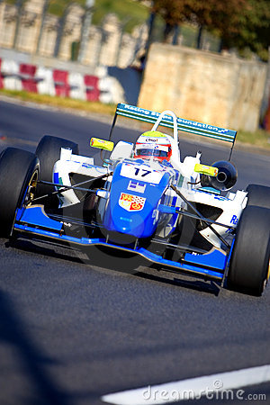 Formula 3 race Editorial Stock Image