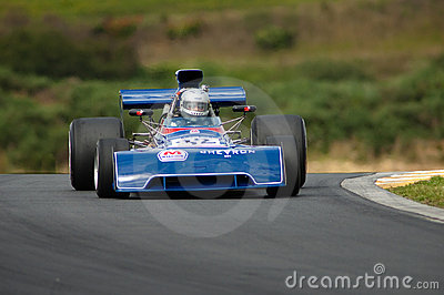 Formula 5000 -Chevron B24 Editorial Stock Image