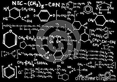 Formula chimica fotografia stock immagine 12200460 for Sfondi chimica