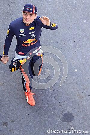 Formula 1 driver Max Verstappen