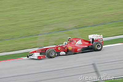 Formula One GP Round 2 in Sepang Malaysia Editorial Photo