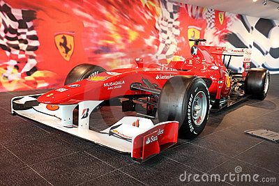Formula One Racing Car Editorial Stock Image